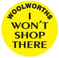 woolworths i wont shop there
