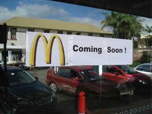Is MacDonalds Moving in to Mullumbimby???????