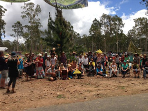 Join the Blockade and protest at Glenugie