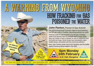 Warning From Wyoming John Fenton CSG Tour